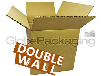 "20 Medium 12x12x12"" DOUBLE WALL Cardboard Boxes 24 HRS"