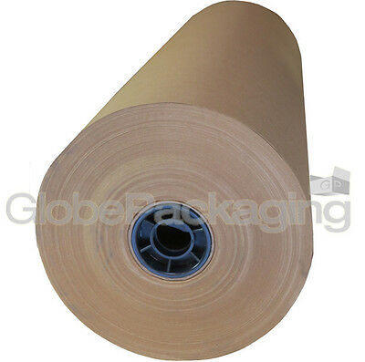 900mm x 225M BROWN KRAFT WRAPPING PAPER ROLL 90gsm 225 METRE HEAVY DUTY *OFFER*