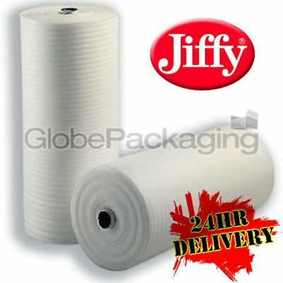 500mm x 200M x 3 ROLLS OF 1.5mm JIFFY FOAM WRAP - 24HR