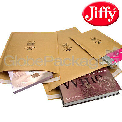 100 x JIFFY JL1 PADDED BAGS ENVELOPES 170x245mm *OFFER*