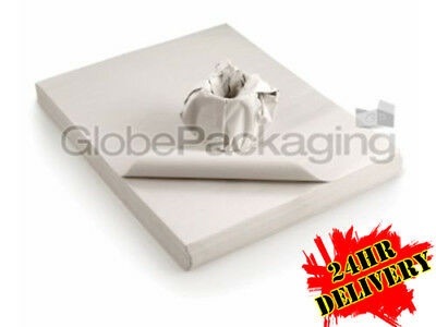 500 Sheets Of WHITE PACKING PAPER  - Newspaper Offcuts