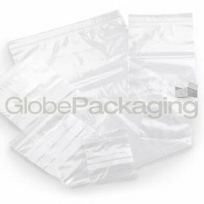 "500 x GRIP SEAL SELF RESEALABLE POLY BAGS 6"" x 9"" GL11"