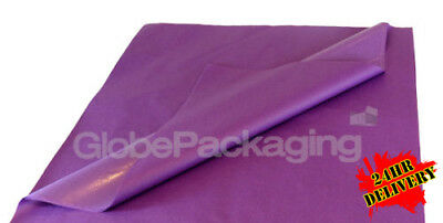 500 SHEETS OF VIOLET PURPLE ACID FREE TISSUE PAPER 500mm x 750mm *HIGH QUALITY*