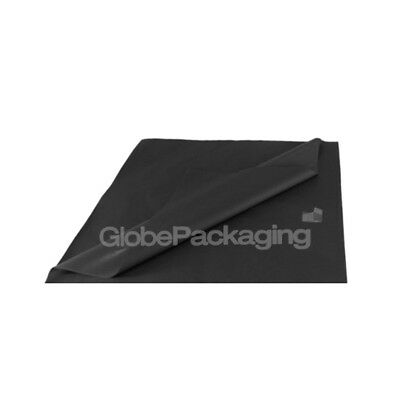 100 SHEETS OF BLACK COLOURED ACID FREE TISSUE PAPER 375mm x 500mm *HIGH QUALITY*