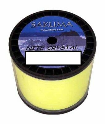 Sakuma Nite Crystal Fishing Line - BULK 1/2 KG Spool