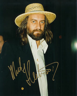 "10""x8"" PHOTO PRINTED AUTOGRAPH - MICK FLEETWOOD"