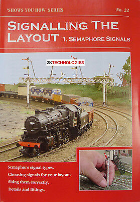 Peco SYH 22 The Railway Modeller Book Signalling The Layout 1 New 8 page Booklet