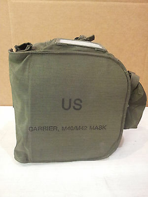 Large US Carrier M4O/M42 MASK Utility canvas bag  NEW IN PLASTIC BAG