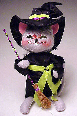 Annalee Halloween New From 2009 name Sparkle Witch Mouse Mobility Doll 10 inch