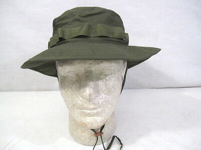 Vietnam US Army OG-107 Green Ripstop Jungle Boonie Hat 1969 MINT Unissued 6 7/8