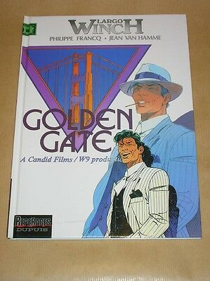 Bd Largo Winch 11 / Golden Gate / Eo 12-2000 / Tres Bon Etat +++