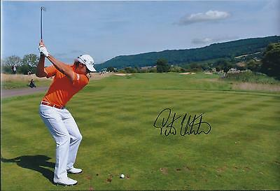 Peter UIHLEIN SIGNED 12x8 Photo AFTAL Autograph COA St ANDREWS Dunhill Links