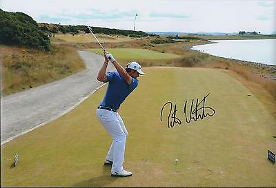 Peter UIHLEIN SIGNED 12x8 Photo AFTAL Autograph COA St ANDREWS GOLF Winner