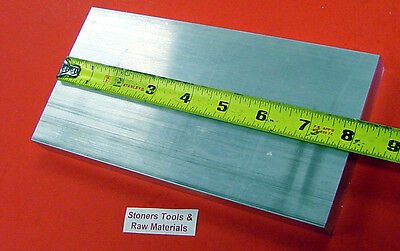 "1-1/2"" X 4"" ALUMINUM 6061 FLAT BAR 8"" Long Solid T6511 1.50""x 4.0 New Mill Stock"