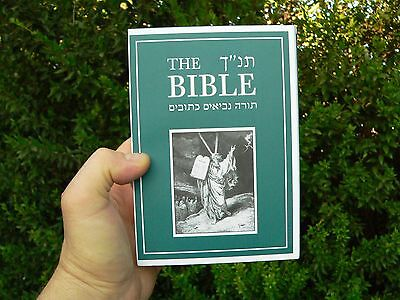 The Holy Bible Jewish Tanakh Hebrew English +Pictures Old Testament Tanach Torah