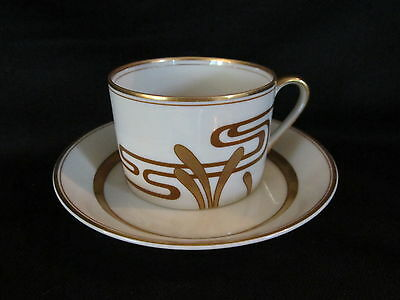 Fitz & Floyd GOLDEN HERON - teacup and saucer