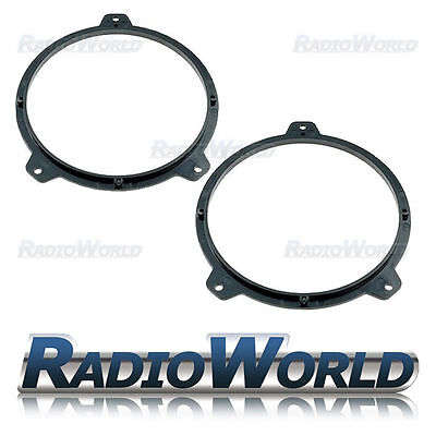 "BMW 3 Series E46 Speaker Adaptor Rings Front Doors 6.5"" 165mm CT25BM06"