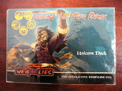 Legend of the Five Rings,Web Of Lies,Unicorn Deck,2004 (INGLES)
