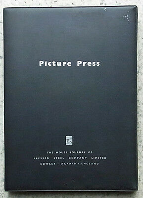 PICTURE PRESS House Journal Pressed Steel Company MORRIS MOTORS Cowley Magazines