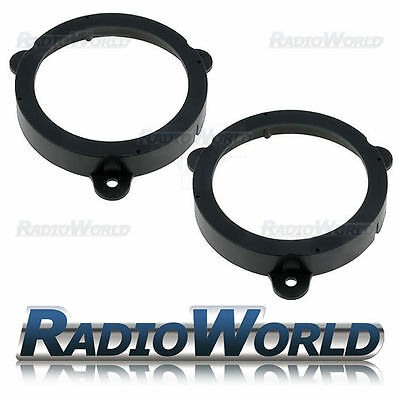 "Renault Megane III Speaker Adaptor Rings Front Doors 5.25"" 130mm CT25RT02"
