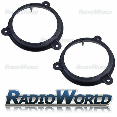 "Nissan Qashqai 2012 > Speaker Adaptor Rings Front Doors 6.5"" 165mm"