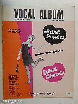 vocal album - songbook SWEEET CHARITY