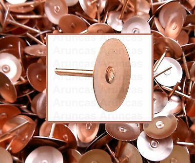 "Copper Disc Rivets 19mm (3/4"") Copper Roofing Rivets - Copper Slate Tile Rivet"