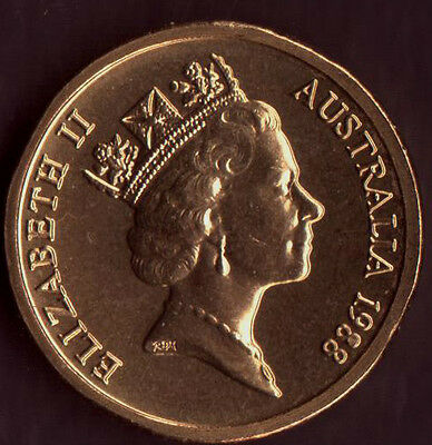 **1988 Australian $2 coin First year of Issue UNC**