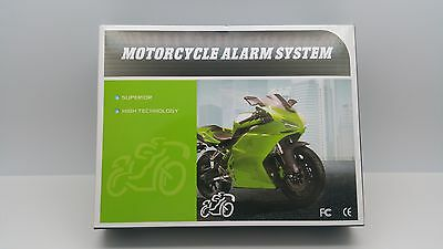 Motorguard Motorcycle Motorbike Motor Bike Alarm Immobiliser + Remote Start