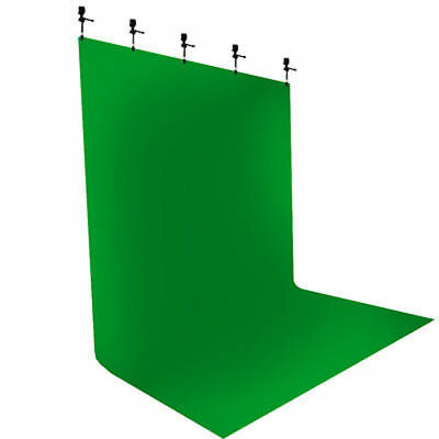 Chromakey Green Screen Muslin Backdrop Background for Studio Lighting Kit