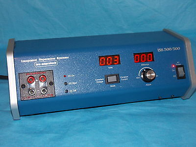 Integrated Separation Systems Iss 500/500 Electrophoresis Power Supply