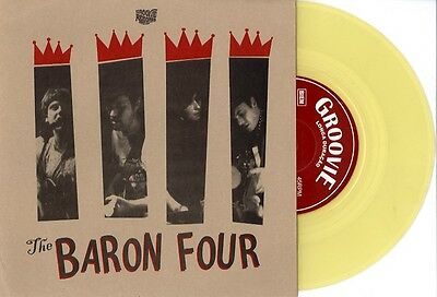 "THE BARON FOUR 5 To 4/ She Said Yeah 7"" 45 NEW COLOR VINYL GARAGE ROCK VICARS"