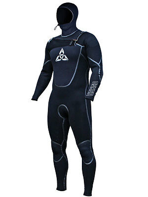 2014 O'Shea Stealth Hooded 5 X 4 X 3 Mens Wetsuit  Surfing ,Windsurf, Kite
