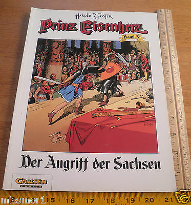 Carlsen Comics German Prince Valiant #19 Harold F Foster 1993 HTF COLOR book