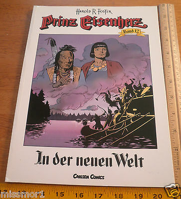 Carlsen Comics German Prince Valiant #12 Harold F Foster 1991 HTF COLOR book