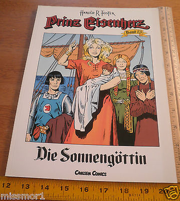 Carlsen Comics German Prince Valiant #13 Harold F Foster 1991 HTF COLOR book