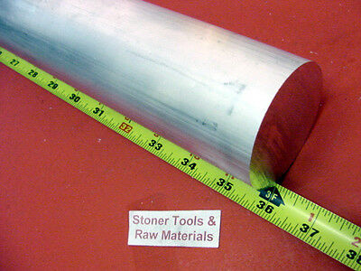 "2"" ALUMINUM 6061 ROUND ROD 36"" long Solid T6511 LATHE BAR STOCK 2.00"" Diameter"