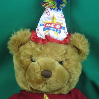 Big Heb Grocery Store 100Th Birthday Hat Bear Plush Stuffed Animal Toy