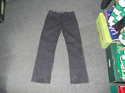 "Next 39830-H Boys 11/12 Yrs Jeans Waist 28"" Leg 27"" Black Faded Boys Jeans"