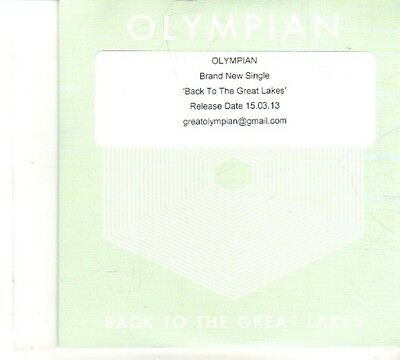 (DP925) Olympian, Back To The Great Lakes - 2013 DJ CD