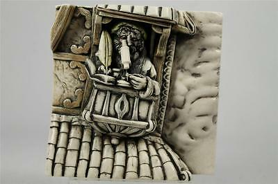 Harmony Kingdom 'The Scientist' Picturesque Wimberley Tales Tile #PXWA2 NIB