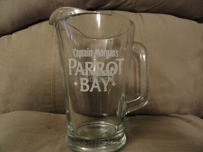 Captain Morgan Rum Parrot Bay Glass Drinking Pitcher - Brand New!
