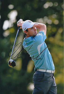Oliver WILSON SIGNED AUTOGRAPH Golf 12x8 Photo AFTAL COA Race To Dubai