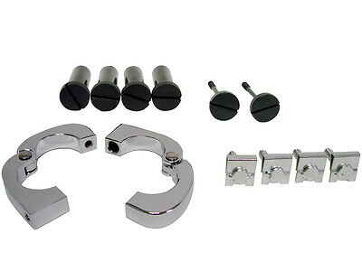 CNC Quick Release Mounting Hardware for Harley Touring Lower Vented Fairings Leg