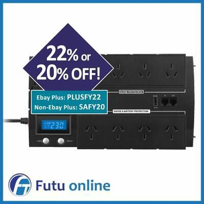 CyberPower 1200VA BRICs LCD UPS 8 Outlets Surge Power Supply 8 Way Power Board