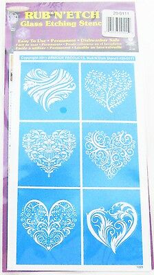 Rub N Etch Stencil sets for Use with Armour Etch Cream
