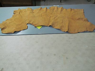 "63""x26""  Tradition Home Tanned, Moose Hide,soft, Sew Ready Rectangular In  Shape"