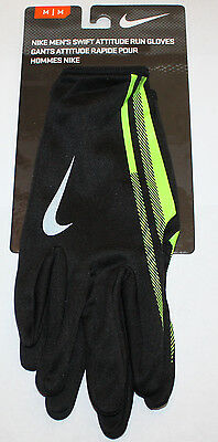 Nike Men's SWIFT ATTITUDE Running Gloves NWT several choices ** REDUCED!