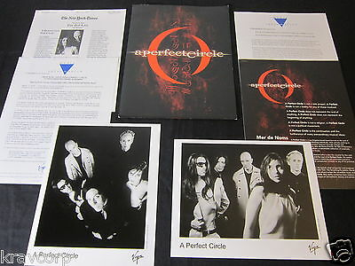 A Perfect Circle 'Mer De Noms' 2000 Press Kit—2 Photos
