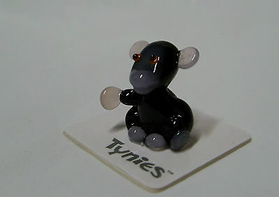 MIK MICE WHITE TYNIES Tiny Glass Figure Figurines Collectibles 0065